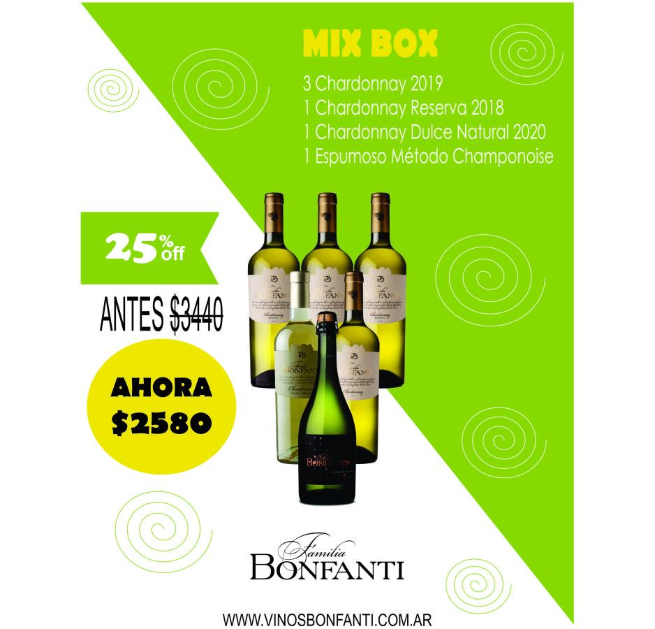 MIX BOX BLANCOS Y ESPUMOSO
